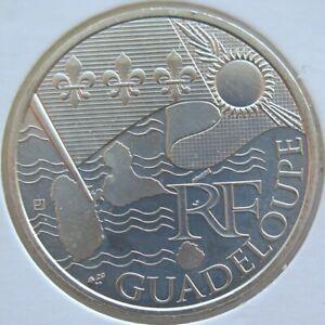 FRX01010.R11 - 10 € FRANCE - 2010 : Région Guadeloupe - argent
