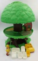 Jouet vintage ancien L'arbre Magique Vulli avec accessoire et personnage