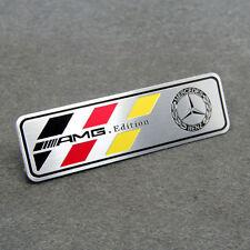 Aluminum Car Modified Emblem Badge Decal fit for Mercedes-Benz CLA CLS C E AMG