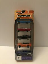 Matchbox 5-Pack Set 2007 Classic Cars #15 MBX Metal 1:64 Scale K9625