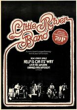 25/6/77PN13 Advert: Little River Band 3 Track 'help Is On Its Way' 15x11