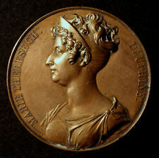 Stadt Beauvais, Große Bronzemedaille 1827, Marie Therese Charlotte Dauphine, RR!