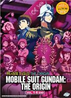 Mobile Suit Gundam The Origin Vol.1-6 End Anime DVD