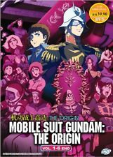 Mobile Suit Gundam The Origin Vol.1-6 End Anime DVD