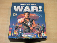 PC CD ROM - This Means War! by Microprose