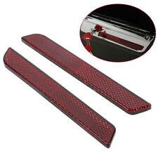 Red reflector of Saddlebag Latch Hardware Harley Davision 1993-2013 ABS material