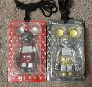 BE@RBRICK Future Mickey Mouse Yellow & Red Set Medicom Toy