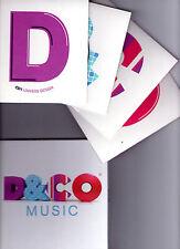COFFRET 4 CDS 60T D & CO DAMIDOT TV MOBY/JONES/PROJECT/NAIM/SEU JORGE/BUBBLE