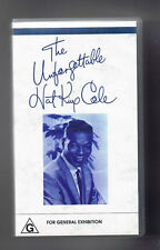 ~THE UNFORGETTABLE NAT KING COLE~ video documentary VHS Nat King Cole