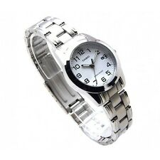 Casio LTP1215A-7B2 Women's Metal Fashion Easy Reader White Dial Analog Watch