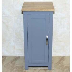 Grey Painted Laundry Bin 480
