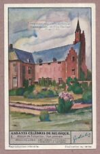 Tongerloo Belgium Abbey Church History Architecture 1930s Trade Ad Card