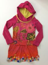 Oilily Girls Pink Dress, Size Age 5 Years, 110 Cm, Vgc