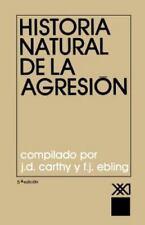 Historia Natural de la Agresion (1979, Hardcover)