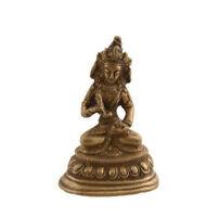 Soprammobile Tibetano Da Verde Tara Divinità Buddista IN Ottone 9149