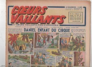 COEURS VAILLANTS 1942 n°39. Hergé. Tintin Le crabe aux Pinces d'Or.
