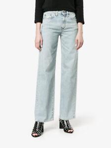 Simon Miller jeans, wide leg, high waist, w006, blue, s. 23 26 28 29 30 31