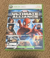 Marvel Ultimate Alliance & Forza Motorsport 2 (Xbox 360) GAME COMPLETE SPIDERMAN