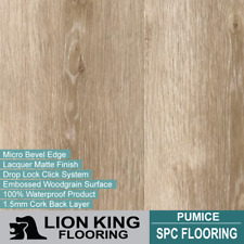 Hybrid SPC flooring, Timber Looking with Cork backing   - Pumice(SAMPLE)