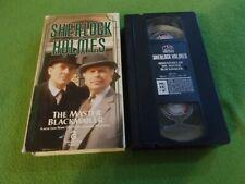 SHERLOCK HOLMES The Master Blackmailer VHS Jeremy Brett