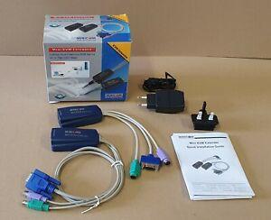 Minicom CAT5 Mini KVM Extender PS/2 70m REV.2     #2989