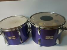 """70's YAMAHA DRUMS 12 """" & 13 """" TOMS - made in  JAPAN"""