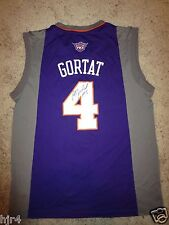 Phoenix Suns #4 Marcin Gortat NBA Adidas Jersey LG L Signed Autograph Poland