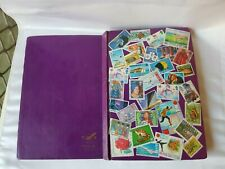 Vintage Stamp Album - An Assortment of World Stamps