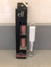 e.l.f. Liquid Matte Lipstick - Tea Rose & Clear Lip Lacquer Full Size