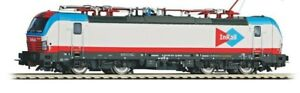 PIKO Expert 59193 193 847 Inrail Livery Grey Headbands Blue/Red 4 Pantographs