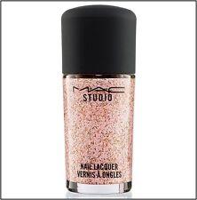 MAC Studio Nail Lacquer Nail Polish DIVA FIERCE Pink Gold Glitter NEW in BOX