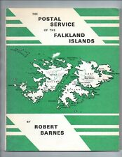 """""""The Postal Service of the Falkland Islands"""" signed by Author Robert Barnes"""
