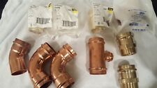 """Viega propress fittings 2 inch  Lot of 2"""" Fittings Apolloxpress"""