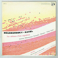 33T 25cm MOUSSORGSKY RAVEL : TABLEAUX EXPOSITION Goehr BORODINE : ASIE CENTRALE