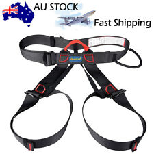 Safety Rock Tree Outdoor Climbing Rappelling Tool Harness Seat Sitting Bust Belt