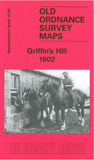OLD ORDNANCE SURVEY MAP BIRMINGHAM GRIFFINS HILL 1902