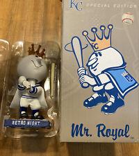 Kansas City Royals Mr. Royal Bobblehead 2014 Retro Night SGA NIB