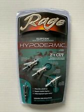1pk Rage Slipcam Hypodermic Mechanical 2 Blade 100 Grain 2