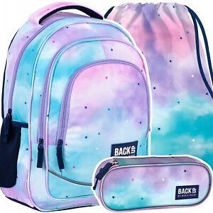 Schulrucksack Schulranzen Backpack  Federmappe Sportbeutel Sterne Mädchen Damen