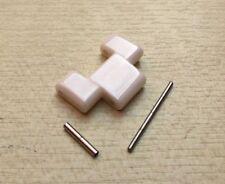 White Ceramic LINK Fits Emporio Armani AR1403/AR1416/AR1415/AR1408 spare strap
