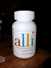 Alli 60 mg Weight Loss Refill Pack 120 Capsules -New Sealed EXP 2022+ NO BOX