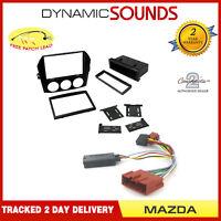Car Stereo Fascia Adaptors Replacement Fitting Kit, Stalk For Mazda MX5 2006>