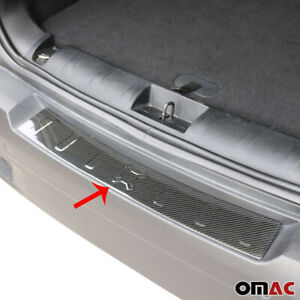 Fits Jeep Renegade 2015-2021 100% Carbon Rear Bumper Trunk Sill Cover Trim Plate