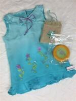 AMERICAN GIRL Doll Kailey Meet Outfit Bag Frisbee~Sundress~Beach Dress*Kanani