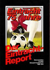 Festschrift Chronik 75 Jahre Eintracht Frankfurt von 1974