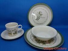 "Corelle ""Thymeless Herbs"" 20 piece 4 serving Dinner Set ~Break & Chip Resistant~"