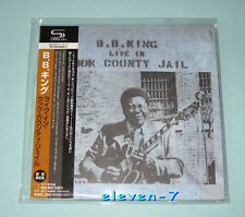 B.B. King Live In Cook County Jail JAPAN mini lp CD SHM brand new & still sealed
