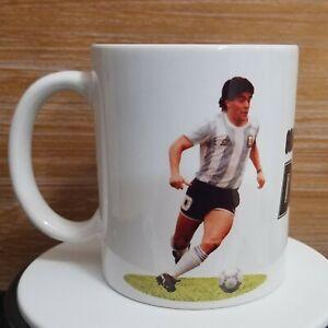 Diego Maradona Coffee Mug Cup Taza 11oz Recuerdo Souvenir Soccer Futbol Argentin