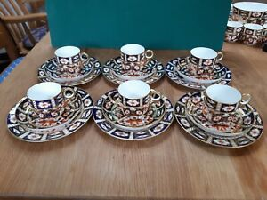 A Royal Crown Derby 18 Piece Tea/Coffee Set in the Imari 2451 Pattern - 1897