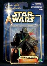 Star Wars Attack of the Clones BARRISS OFFEE #12 signed by NALINE KRISHAN